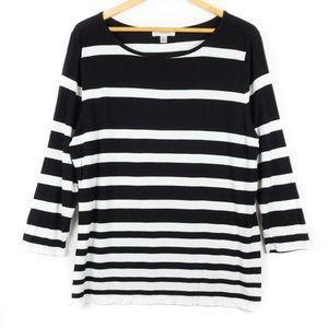 ✨3/$25✨Dressbarn Striped Long Sleeve Tunic